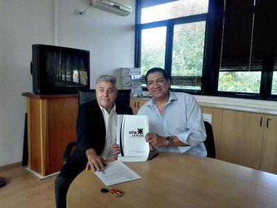 Los petroleros del SUPEH y la UTN Regional firmaron un acuerdo histórico para brindar capacitación