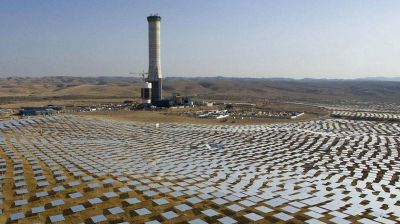 Israel pone en marcha la planta de energía solar más grande del mundo