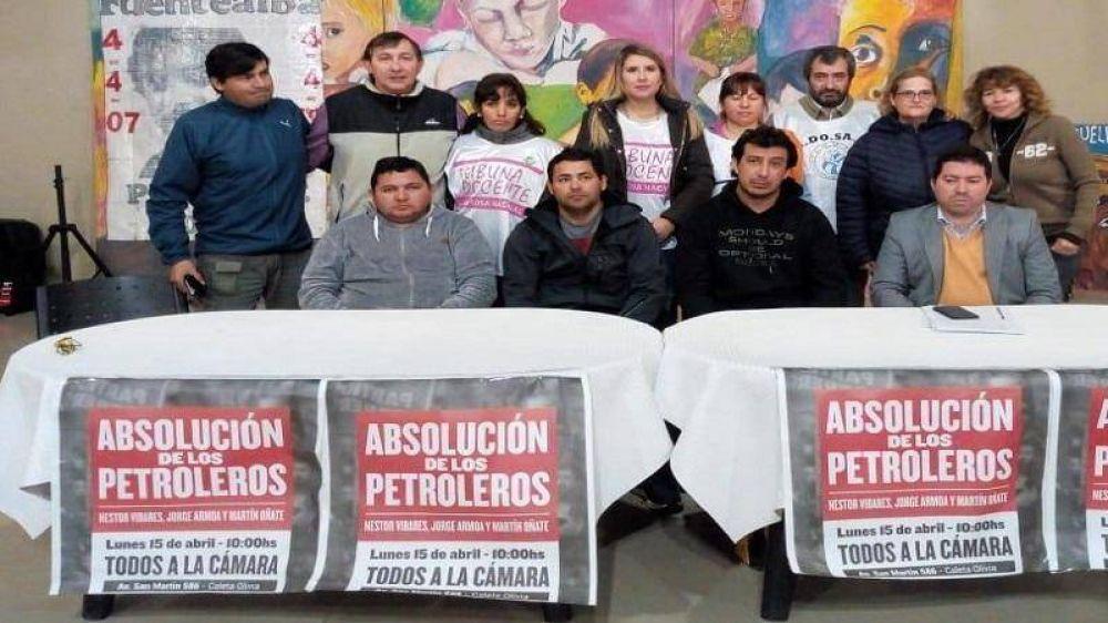 Santa Cruz: trabajadores petroleros serán enjuiciados por reclamar derechos laborales