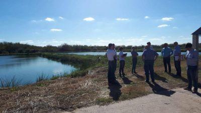 Delegación francesa visitó obras de saneamiento en Rafaela