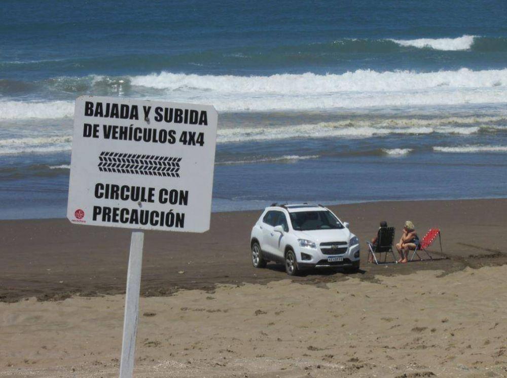 Concejales buscan prohibir todo el año la circulación de rodados en las playas céntricas