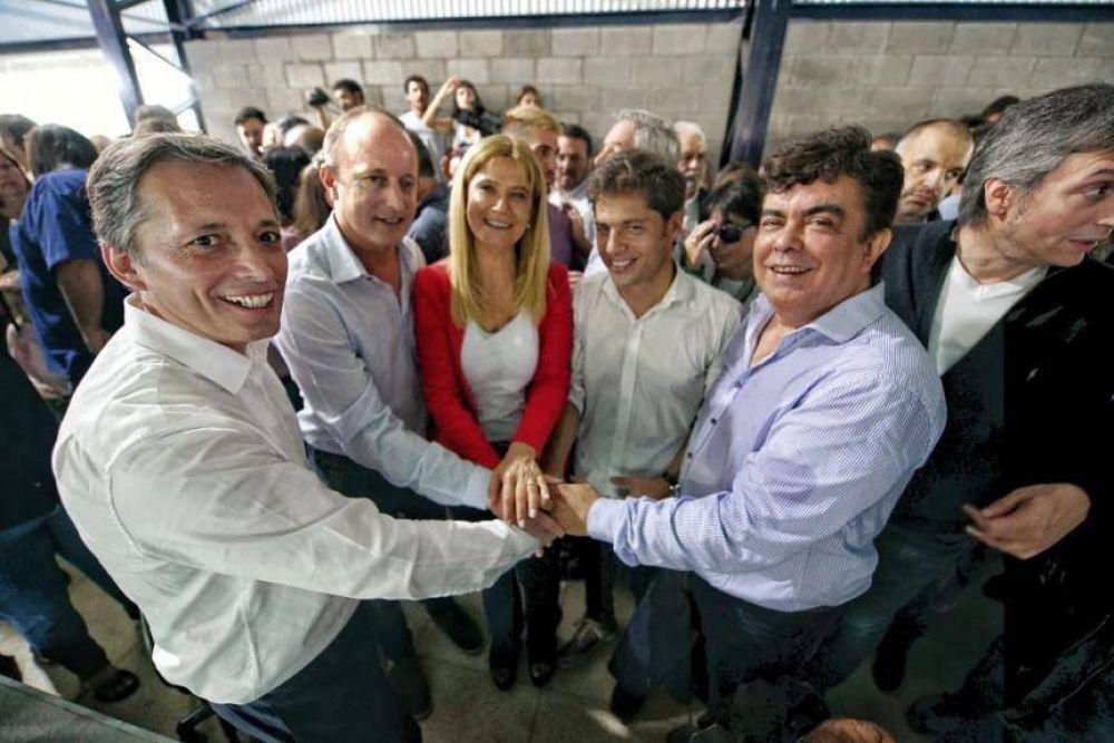 Con varios candidatos en la cancha, el peronismo bonaerense se mostró unido en Avellaneda