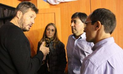 La gira del candidato sin candidatura: Tinelli jugó de local en Bolívar