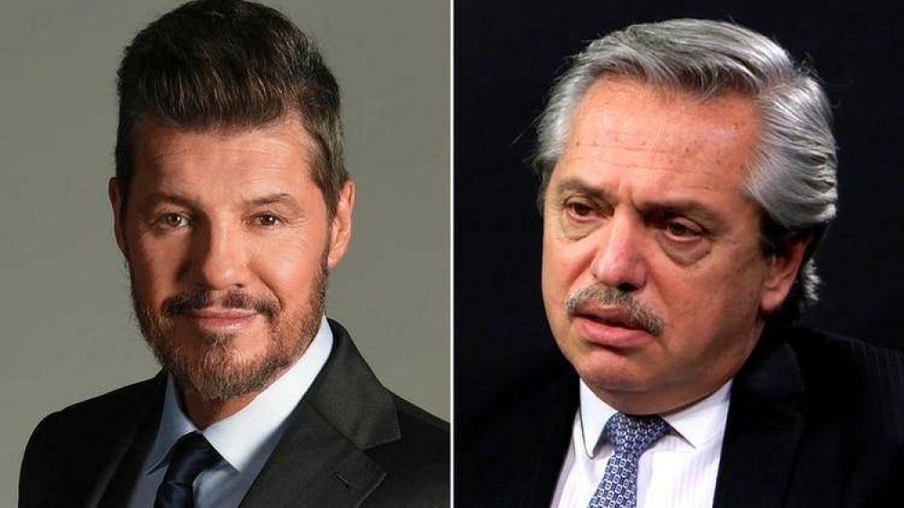 Tras años de peleas con el kirchnerismo, Tinelli se reunió con Alberto Fernández