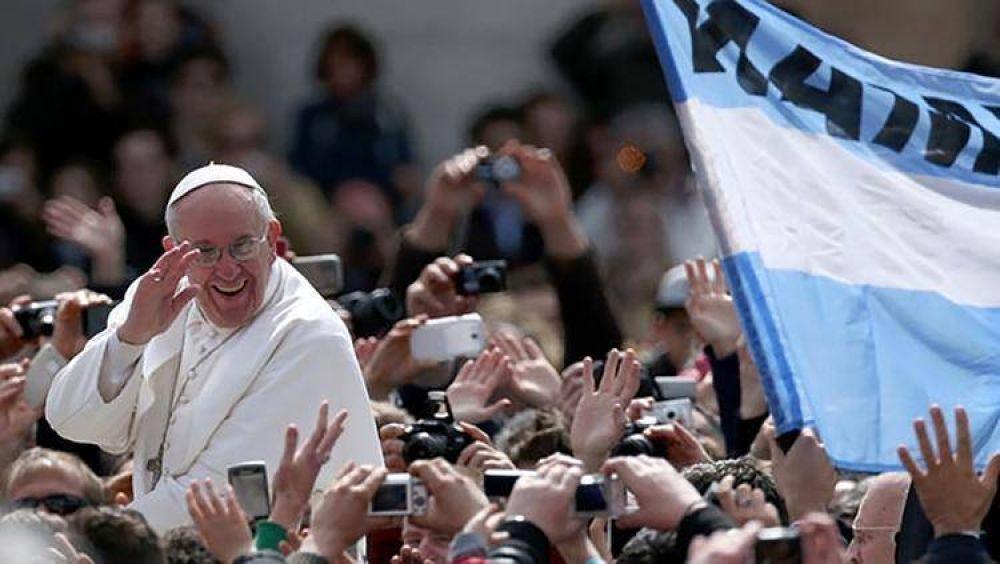¿Mensaje del Papa a los Celestes?: