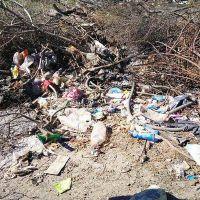 Sacháyoj: multarán a los vecinos que arrojen basura