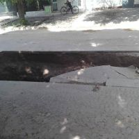 """Obra en la calle Ferrando: la municipalidad pide """"celeridad"""""""