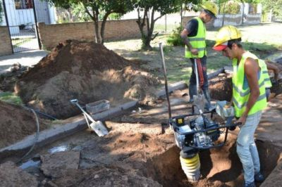 Realizan nueva obra de agua potable en Santa Rosa