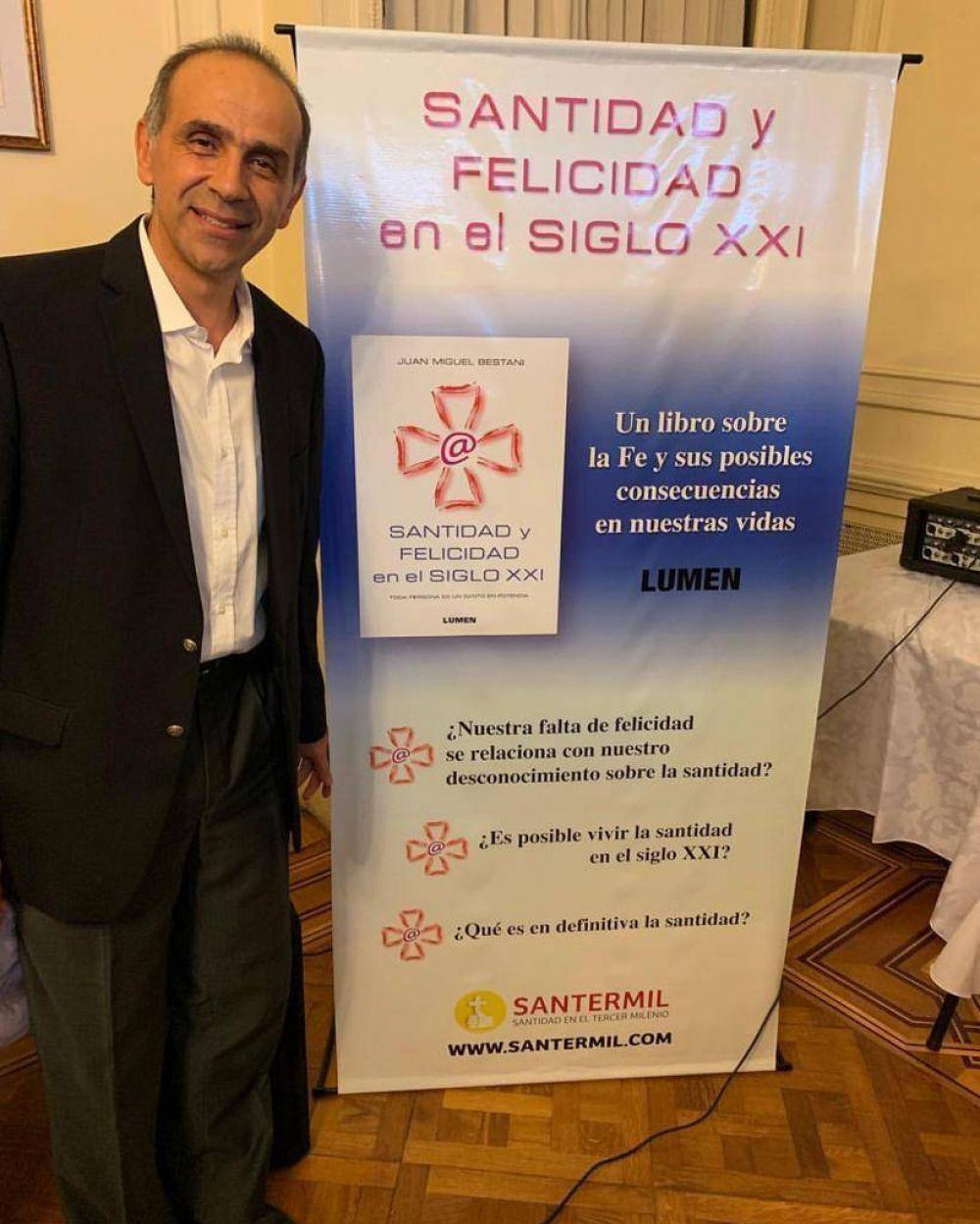 Presentaron un libro sobre la Santidad y Felicidad en el siglo XXI