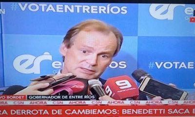 Bordet llamó a construir la unidad nacional del peronismo