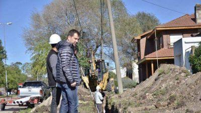 El intendente Di Césare avanza con importantes obras en Miramar
