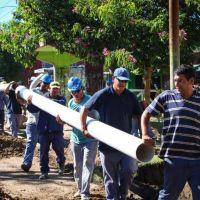 AYSA finalizó obras de cloacas en Quilmes