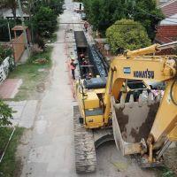 Avanzan las obras hídricas que beneficiarán a más de 200 mil vecinos de La Plata