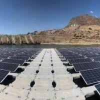 Impresionante planta solar sobre agua en Chile promueve minería sostenible