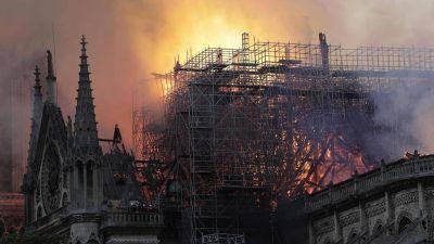 """Notre-Dame; Poupard: """"Una catástrofe para la cristiandad. Ahora la Iglesia debe superar las divisiones"""""""