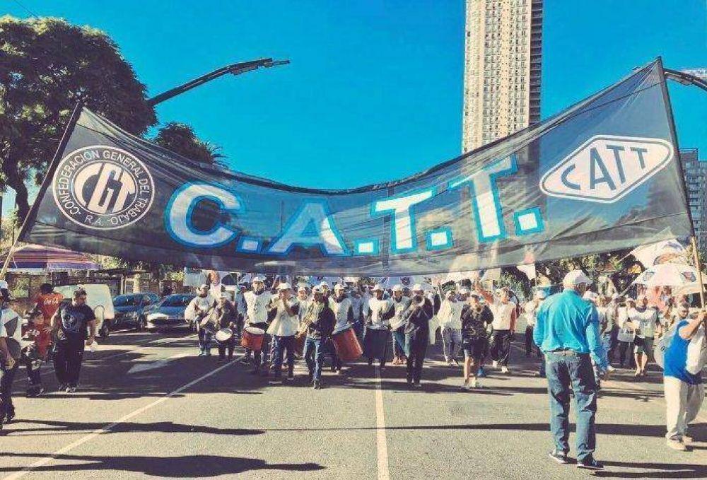La CATT no levantará la protesta del 1ª de Mayo y la CGT avala la decisión