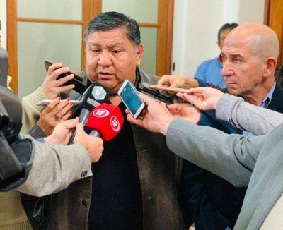 """""""Loma"""" Ávila, luego de la reunión en Rawson: """"somos garantía de trabajo"""""""
