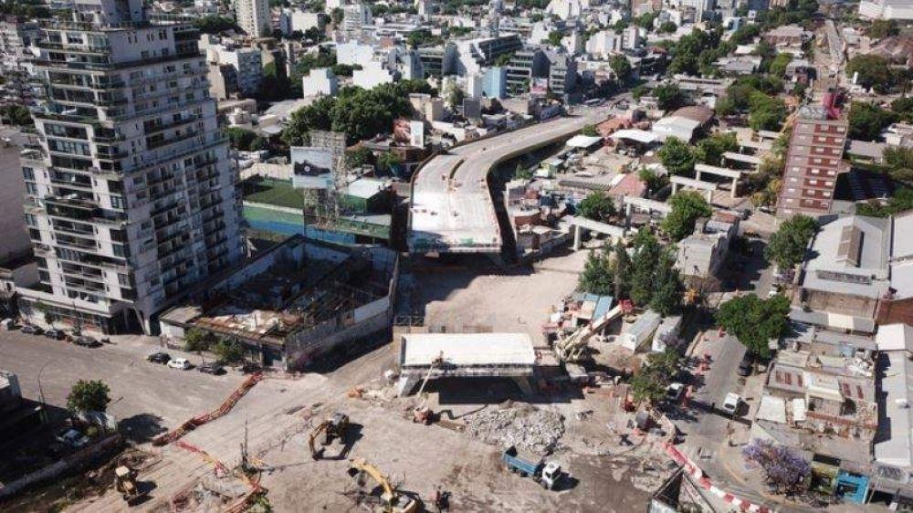 La Ciudad finalizó el desarme del puente de Juan B Justo