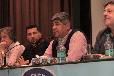 """Sin respaldo de la CGT, Pablo Moyano promete un paro nacional """"contundente"""""""