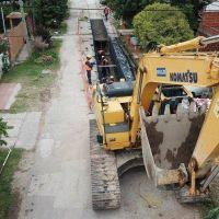 Avanzan obras de puentes y red de desagües que beneficiará 200 mil platenses