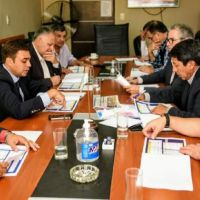 Senadores se reunieron con el Presidente de EC Sapem