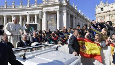 """Catequesis del Papa: """"En el Getsemaní, la soledad no da salidas, la oración sí"""""""