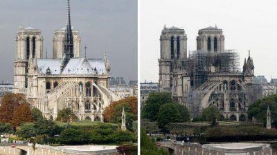 La mirada de tres Papas sobre Notre Dame de París