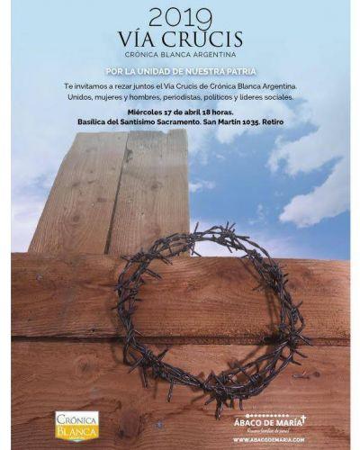 Via Crucis por la unidad de los argentinos.