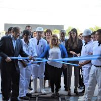 Tassano inauguró el nuevo Centro de Control Bromatológico municipal