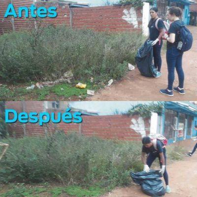 "#TrashtagChallenge: el ""desafío de la basura"" llegó a San Pedro"