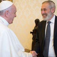 Papa Francisco felicita a los judíos por la Pascua