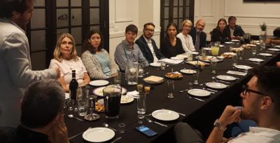 Jóvenes judíos y católicos celebraron Pesaj