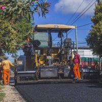 Comenzó la obra de reasfaltado de las calles del barrio Lubo