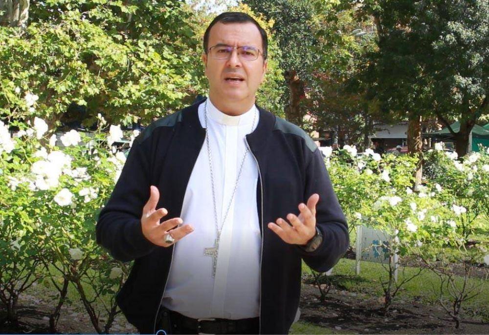 """""""Pasan cosas buenas y malas en la ciudad"""": el mensaje de Pascua de Monseñor Mestre"""