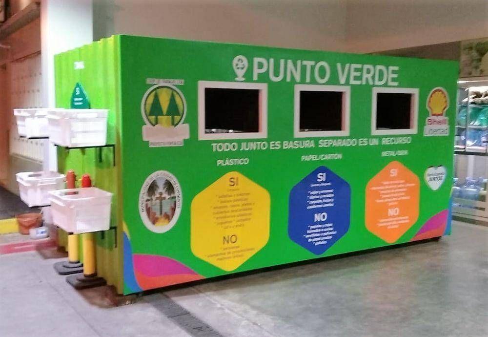 Para fomentar el reciclaje, instalarán un Punto Verde en la plaza Libertad