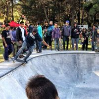 "Skate: Se inauguró ""el primer bowl de la historia de Necochea"""