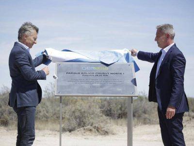 Genneia inauguró su quinto parque eólico en el país