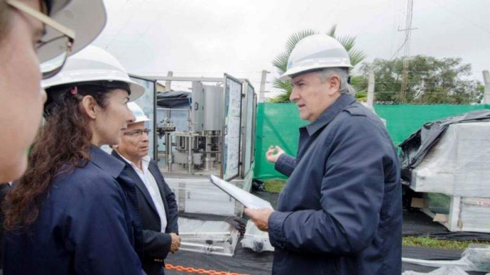 Iniciaron las obras de la Planta Embotelladora de Agua Potable