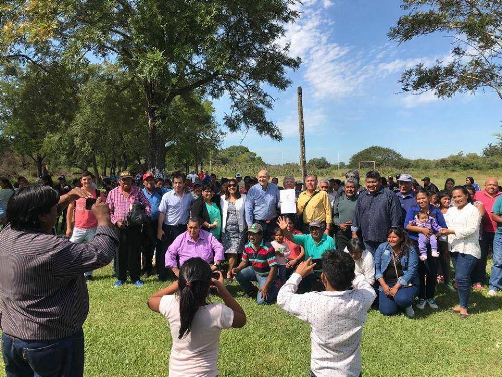 La Confederación Evangélica Bautista entregó tierras a familias Toba-Qom en la localidad chaqueña de general San Martín