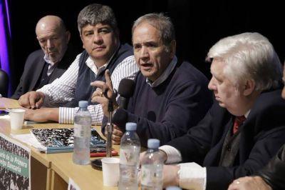 Pablo Moyano y Palazzo ratificaron el paro del 30 con actos y movilizaciones