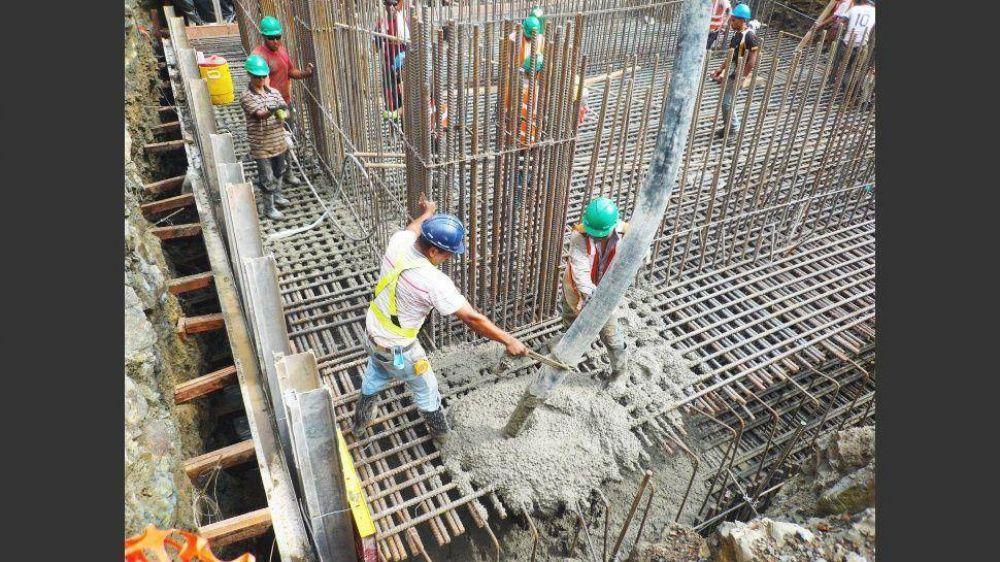 Las obras nuevas registraron una fuerte caída en el primer trimestre del año