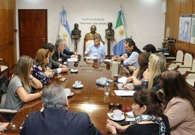 Obras hídricas: Peppo pidió a diputados celeridad en la aprobación de créditos