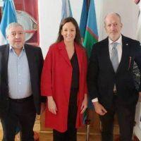 La Ministra de Desarrollo Social Carolina Stanley recibió a la DAIA