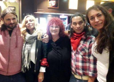 Juan Grabois se reunió con Daniela Castro en los lanzamientos de Tandil y Azul