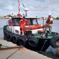 Puerto Quequén: Desarrollaron la práctica anual del Código Internacional de Protección de Buques y de las Instalaciones Portuarias