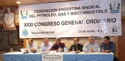 Sesionan Congresos de la Federación Argentina Sindical de Petroleros