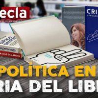 La política en la Feria del Libro