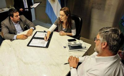 Más cerca de los gremios, Vidal almuerza con la UATRE y las 62 Organizaciones Peronistas
