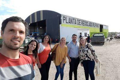 Una Planta de Reciclado modelo
