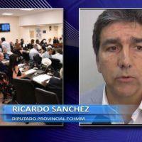 """Ricardo Sánchez: """"Lo que acá se esconde es que no quieren aprobar los créditos"""""""